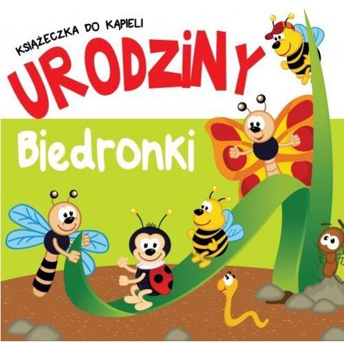Książeczka do kąpieli Urodziny Biedronki (9788377407707)