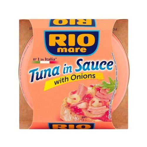 160g tuńczyk w sosie z cebulą marki Rio mare