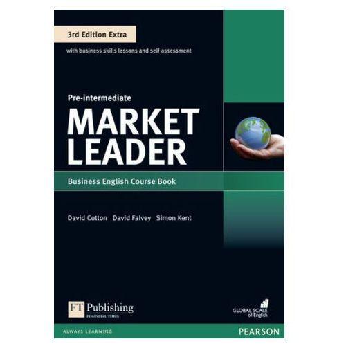 Market Leader 3Ed Extra Pre-Intermediate. Podręcznik + DVD-ROM + MyEnglishLab, oprawa miękka