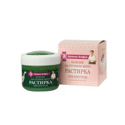 Babuszka Agafia Balsam kosmetyczny na gęsim tłuszczu - przy przeziębieniu 75ml