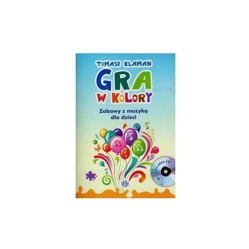 Gra w kolory + CD - Wysyłka od 5,99 - kupuj w sprawdzonych księgarniach !!!, oprawa miękka