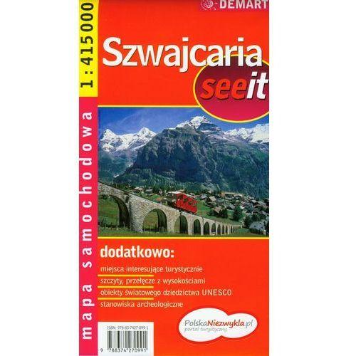 Szwajcaria see it 1:415 000 (2007)