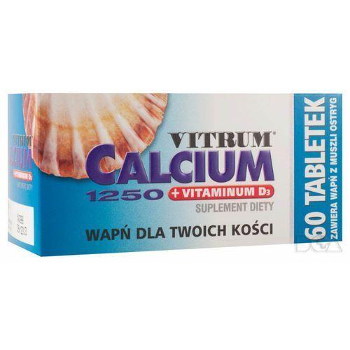 Vitrum Calcium 1250 +vit.D3 x 60tabl. *C, produkt z kategorii- Leki na osteoporozę
