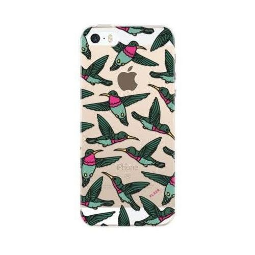 Flavr Etui iplate hummingbirds do apple iphone 5/5s/se wielokolorowy (28369) (4029948059228)