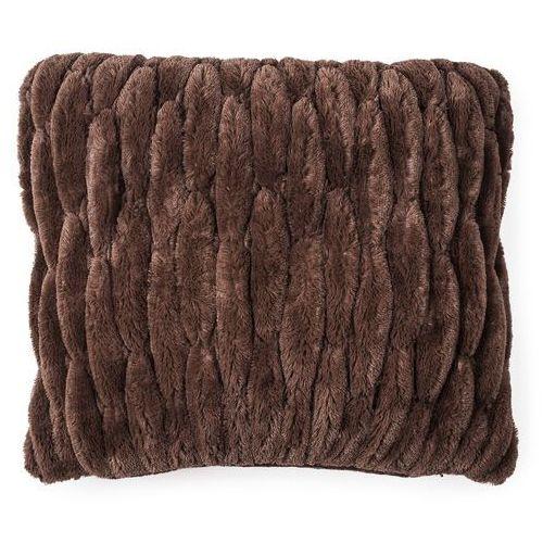4-home Bo-ma trading poszewka na poduszkę włochata pikowana brązowy, 45 x 45 cm (8595182114369)