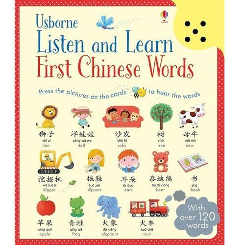 Listen and Learn First Chinese Words - Dostawa 0 zł (2016)