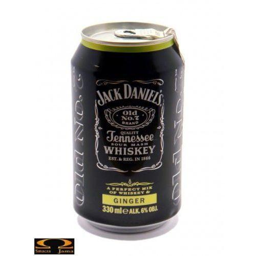 Jack Daniel's Ginger 0,33l 6%, 2714