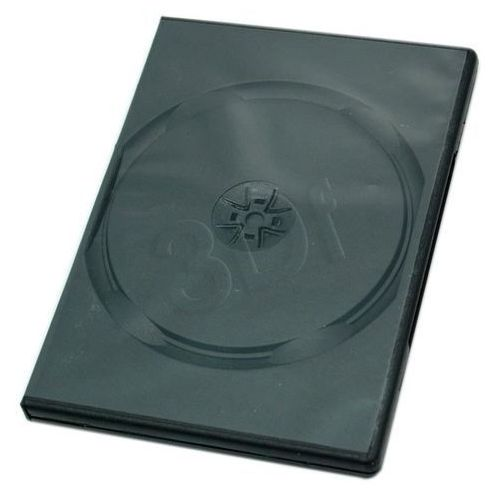 PUDEŁKO NA DVD BLACK 1 DISC 14mm 5SZT (pudełko i etui na płytę)