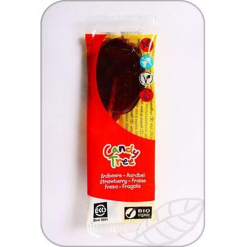 Candy Tree: lizak smak truskawkowy BIO - 13 g, 8711542002323