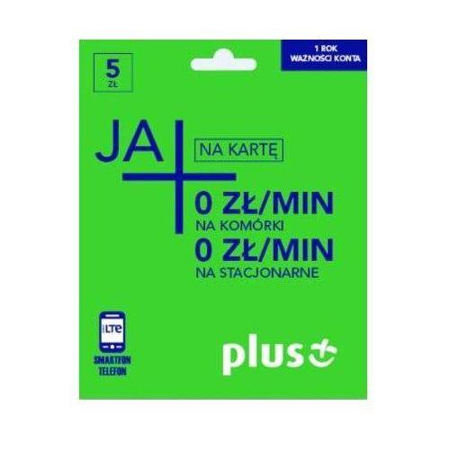 Starter PLUS GSM JA+ Rozmowy do wszystkich 5PLN