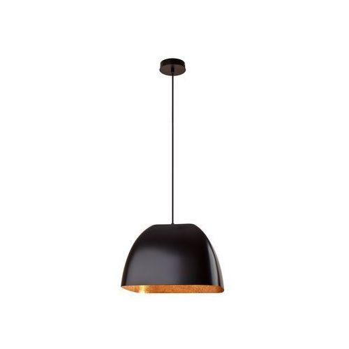 Sigma Lampa wisząca alwa m czarna miedź do salonu (5902335262724)