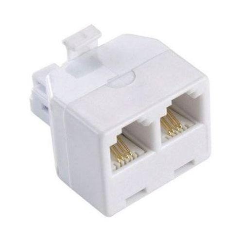 Hama Rozdzielacz modułowy 2 w 1 plug/2 coup. 8p8c