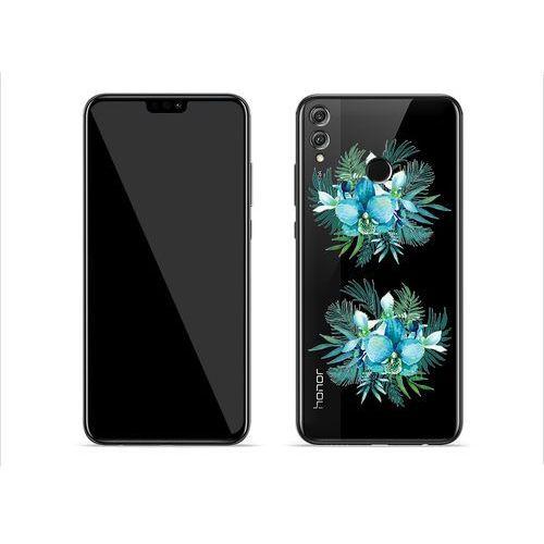 Huawei Honor 8X - etui na telefon Crystal Design - Orchidee