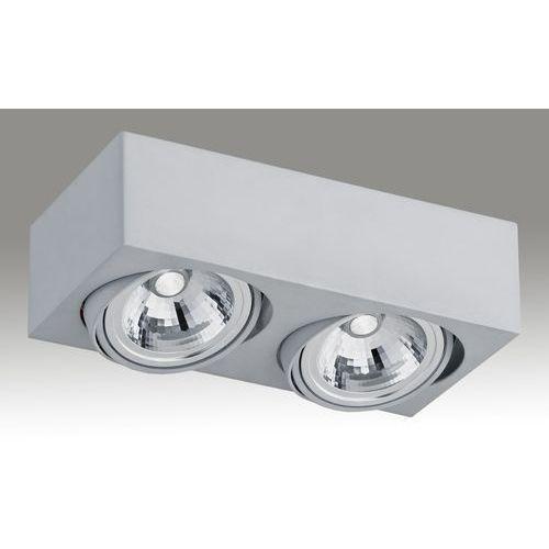 Argon Plafon rodos ii srebrny 14w metal