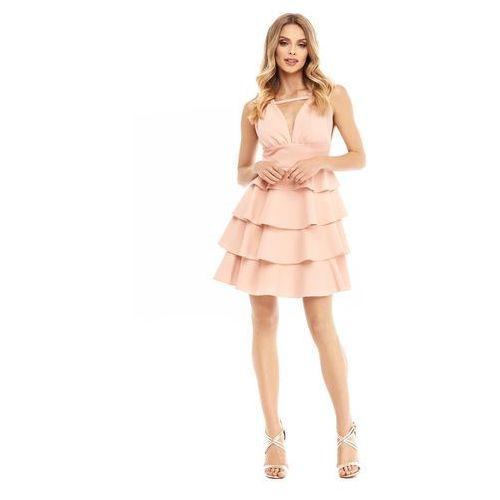 Sukienka Faith w kolorze brzoskwiniowym