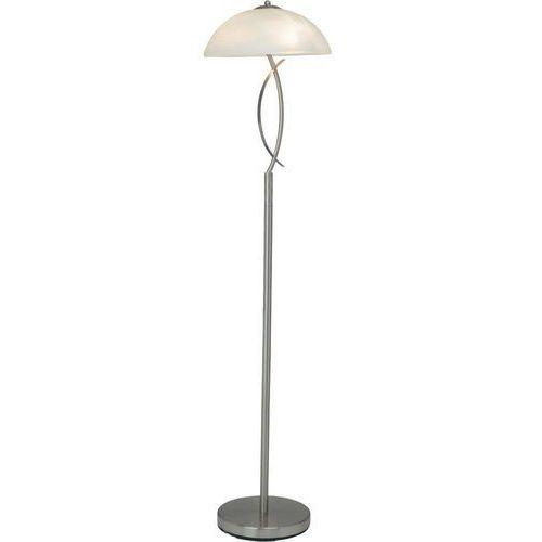 Lampa stojąca Brilliant 12858/13, 1x40 W, E14, żelazowy, biały, (SxW) 32 cm x 137 cm, 230 V (4004353174308)