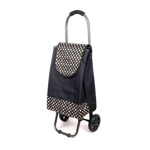 Wózek na zakupy S 02 czarny (wózek na zakupy)