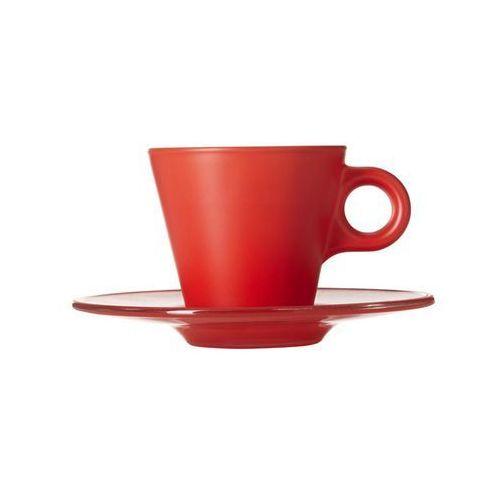 Filiżanka do espresso zmieniająca kolor (czerwona) Ooh! Magico Leonardo, 012266