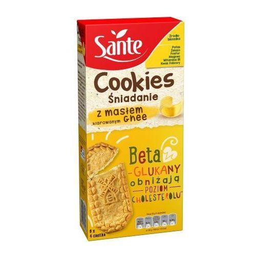 Sante Ciasteczka śniadaniowe Cookies z masłem klarowanym Ghee 300g PROMOCJA