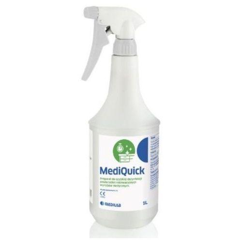 Medilab mediquick alkoholowy preparat do szybkiej dezynfekcji powierzchni nieinwazyjnych wyrobów medycznych marki Medi-lab
