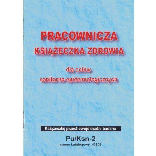 Pracownicza książeczka zdrowia - sanepid / a6 [pu/ksn-2] marki Firma krajewski