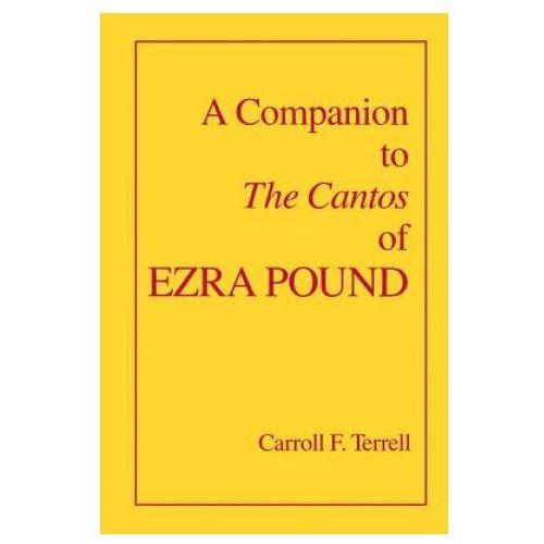 Companion to The Cantos of Ezra Pound (9780520082878)