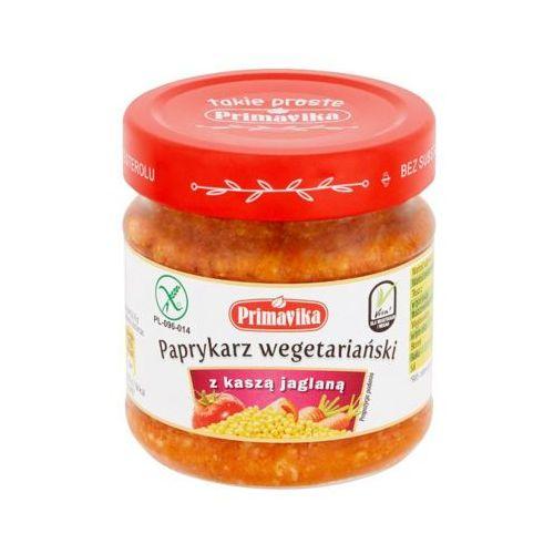 PRIMAVIKA 160g Paprykarz wegetariański z kaszą jaglaną