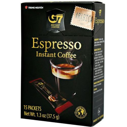 Trung nguyen Kawa instant g7 espresso, 15 saszetek arabica - (8935024150702)