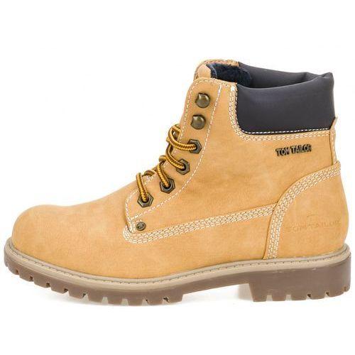 a438082f42c7b buty za kostkę damskie 37 żółty, Tom tailor 246,00 zł damskie buty za  kostkę firmy Tom Tailor z podwyższoną podeszwą.
