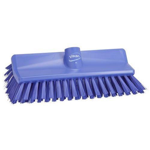 Szczotka kątowa High-Low do szorowania, średnia, fioletowa, 265 mm, VIKAN 70478, produkt marki Vikan