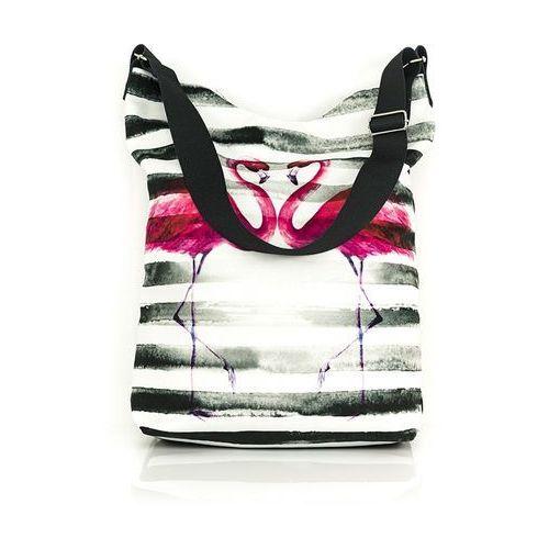 Torba na ramię flamingi marki Shellbag