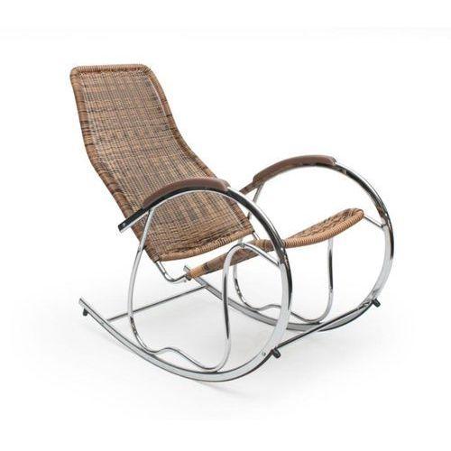 Fotel bujany z Technorattanu HALMAR BEN, marki Halmar do zakupu w ErgoExpert.pl