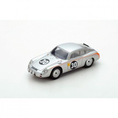 Porsche 356B Carrera Abarth #30 B. Pon/C. Godin de Beaufort Le Mans 1962