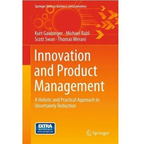 Innovation and Product Management (9783642543753)
