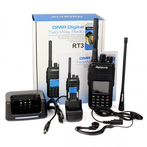 Radiotelefon dmr rt-3 136-174mhz marki Retevis