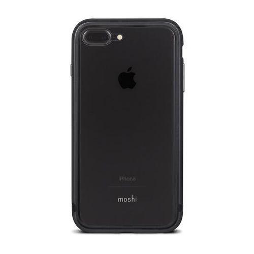 Moshi luxe - aluminiowy bumper iphone 7 plus (black)