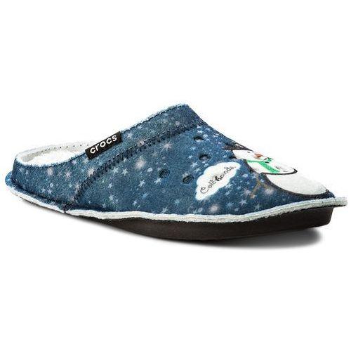 Kapcie - classic graphic slipper 204565 navy marki Crocs