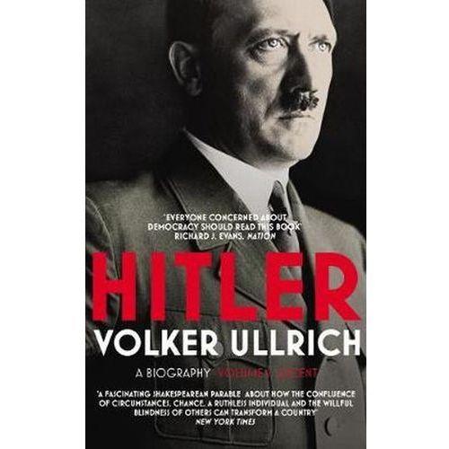 Hitler - Ullrich Volker. DARMOWA DOSTAWA DO KIOSKU RUCHU OD 24,99ZŁ, Volker Ullrich