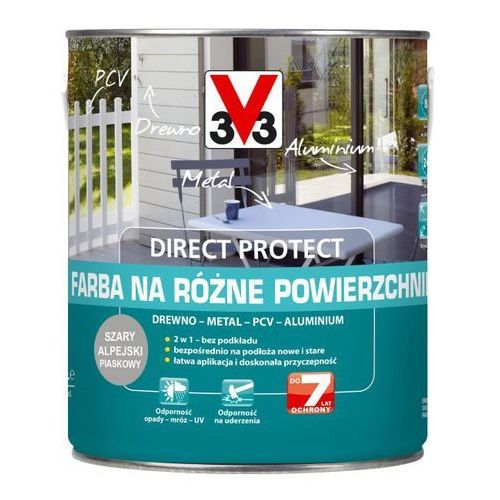 Farba V33 Direct Protect szary alpejski 2 5 l (3153895061582)