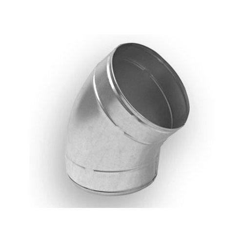 Kolano wentylacyjne tłoczone 45 st, 80 mm (5901829011886)