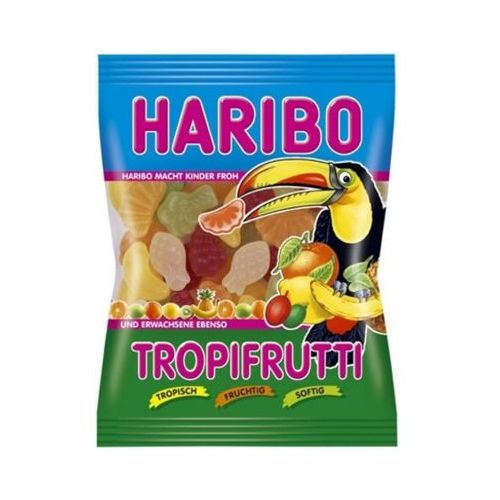 200g tropifrutti niemieckie żelki marki Haribo