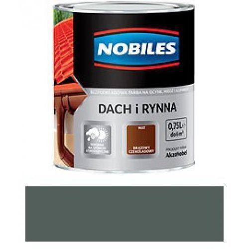 NOBILES DACH I RYNNA-Zielony mchowy-5L - produkt z kategorii- rynny