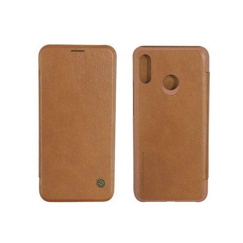 Huawei Nova 3 - etui na telefon Nillkin Qin - brązowy, kolor brązowy