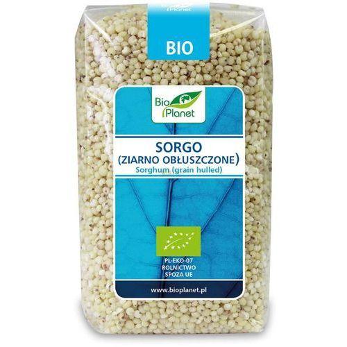Sorgo (ziarno obłuszczone) bio 500 g - bio planet marki Bio planet - seria niebieska (ryże, kasze, ziarna)