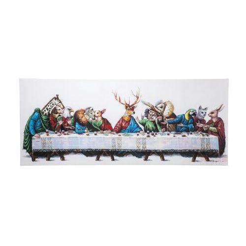 Kare Design Touched Last Supper Obraz 100x240cm - 36689 (obraz)