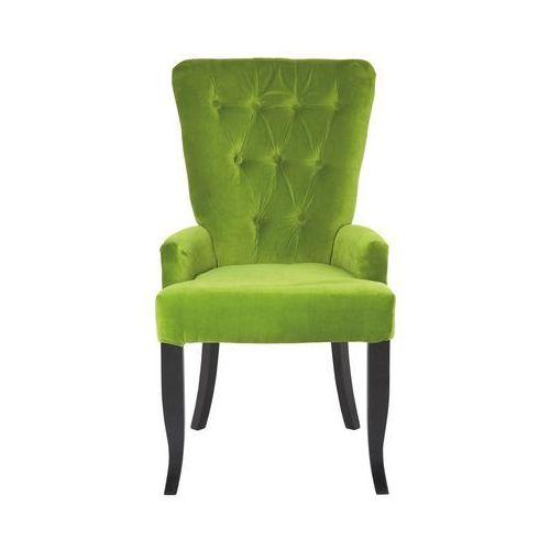 Pop Art & Fun Elegance Barock Fotel Zielony Tkanina (75888), marki Kare Design do zakupu w sfmeble.pl