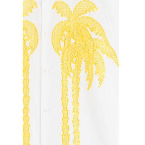 Embroidered Cotton Shirt Gr. EU 48, materiał bawełna