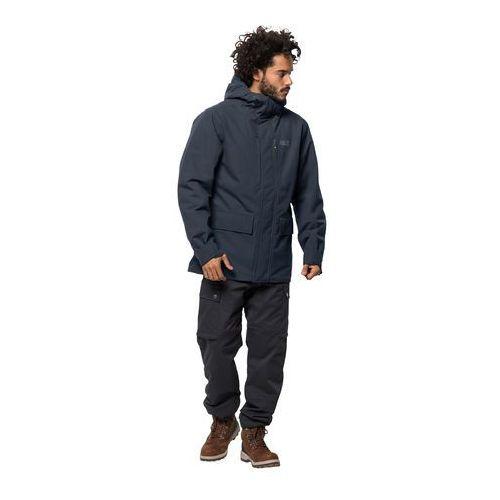 Męska kurtka zimowa west coast jacket night blue - xxl marki Jack wolfskin