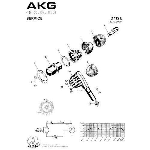 """AKG D112 mkII - nowa wersja legendarnego mikrofonu do stopy -5% na pierwsze zakupy z kodem """"START""""!"""