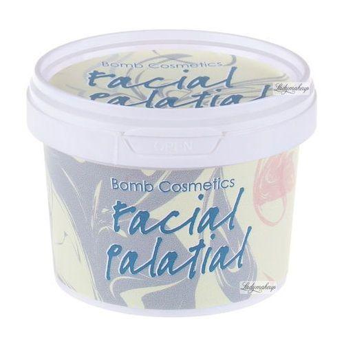 Bomb cosmetics facial palatial - delikatny scrub do twarzy 110ml